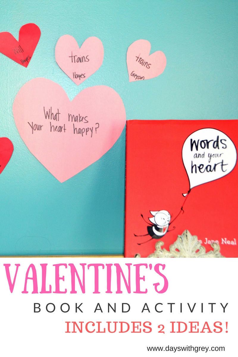 Preschool Valentine Book and Activity