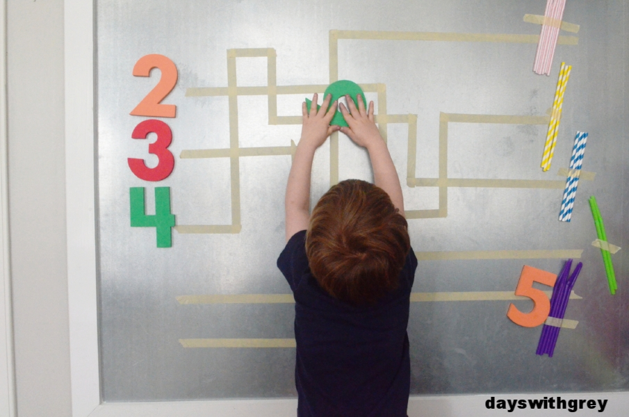 preschool math counting game