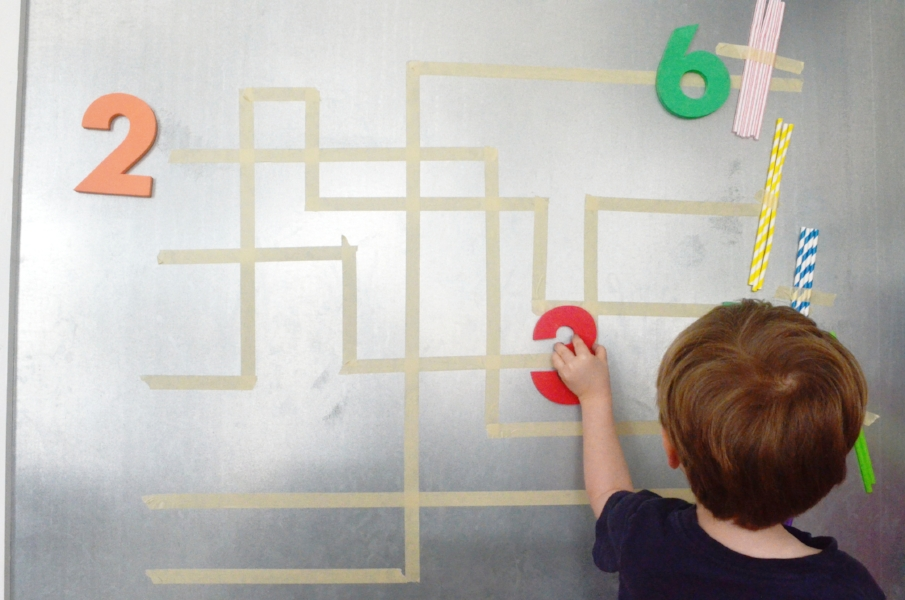 preschool number and counting game