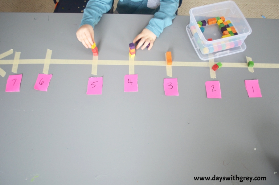 Easy Math Activity for preschoolers