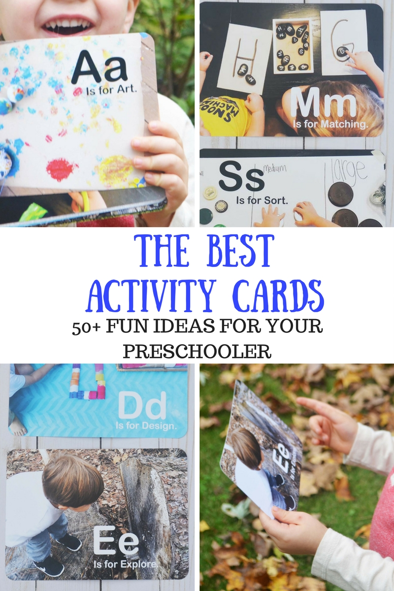 Alphabet Activity Cards