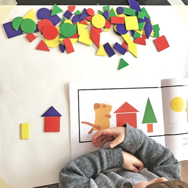preschool shape activity