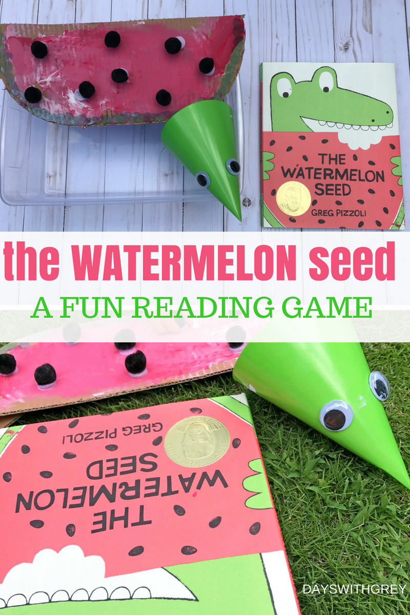 the watermelon seed - best book for summer