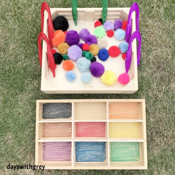 Preschool Color sorting