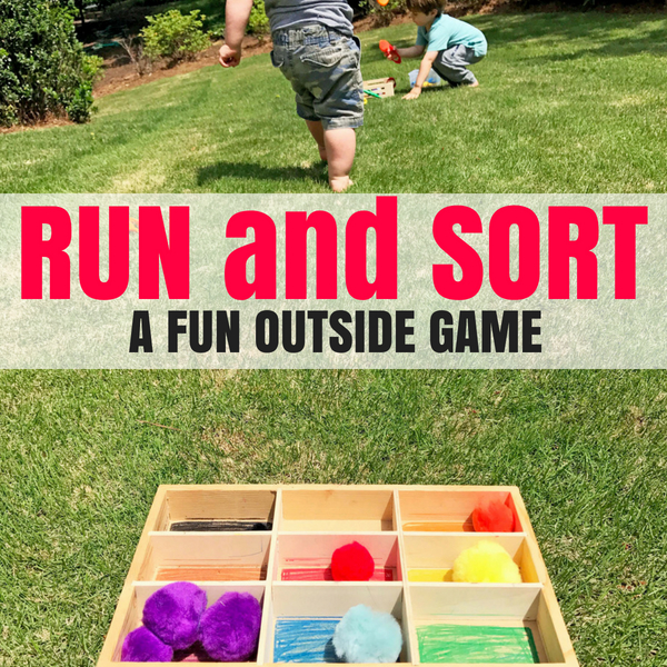 Outdoor Math Game To Color Sort Days With Grey