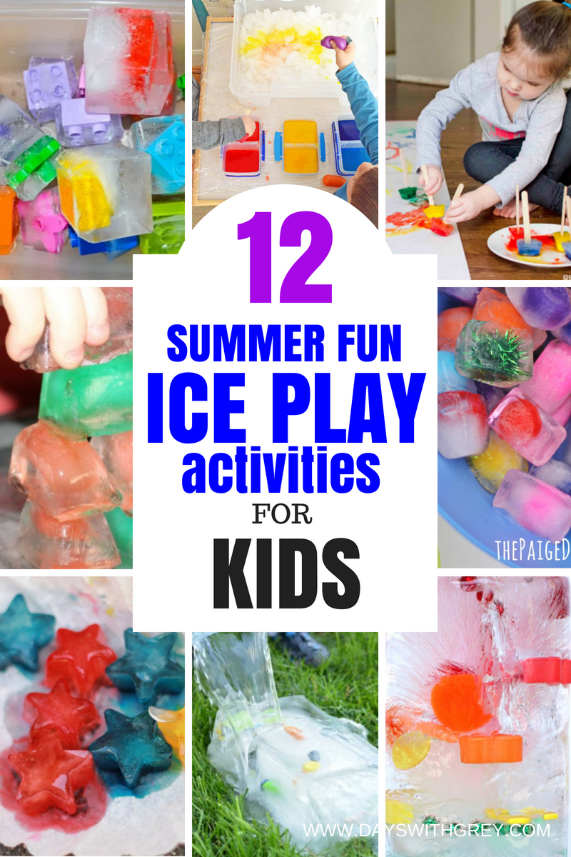 ice play activities for kids