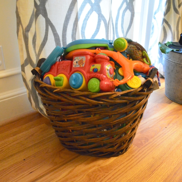 playroom storage hacks