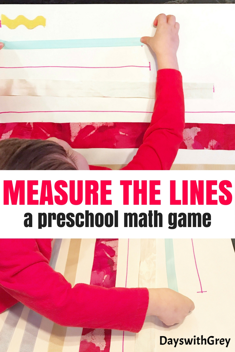 measurement preschool math game