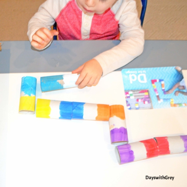 preschool DIY color game