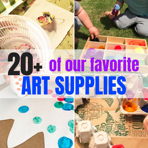 20 Startup Craft Supplies For Your Preschooler Days With Grey
