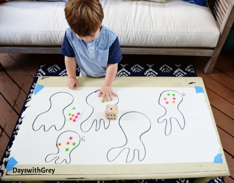 preschool counting game for kindergarten readiness
