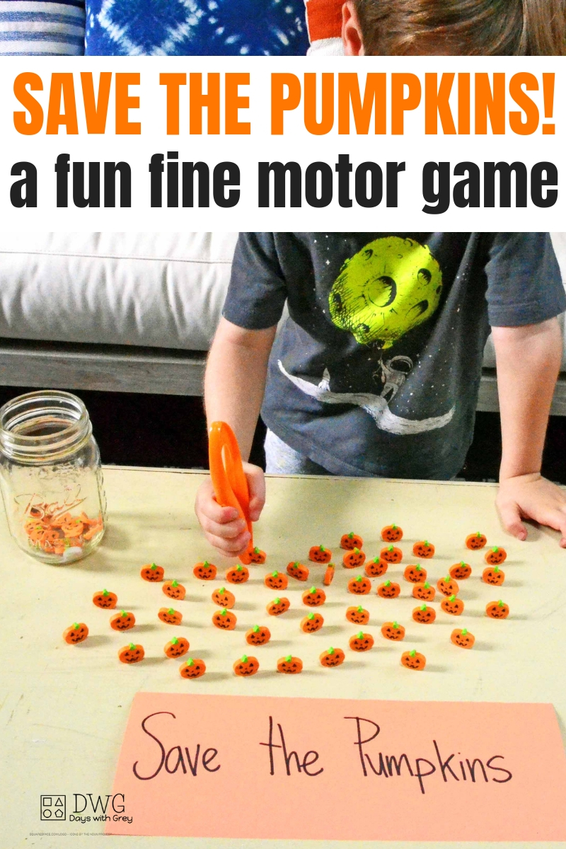 fine motor play for pencil grip, fall toddler ideas, Halloween ideas for kids, pumpkin games for kids