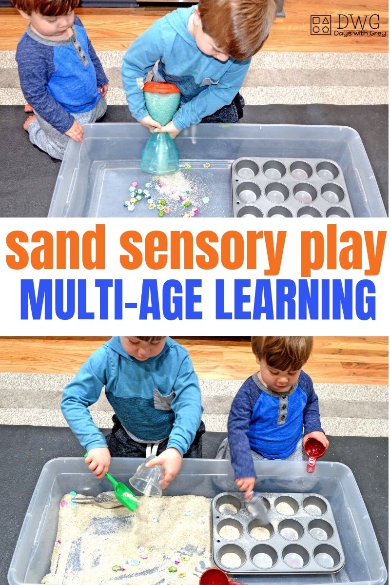 Sensory play for preschoolers, multi-age learning, toddler activities for kids, fine motor play #indoorgames #holidaygames #finemotor #preschooler #toddler .jpg