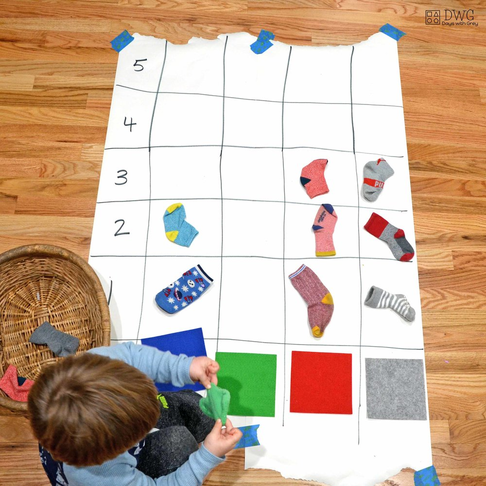 indoor math game for kids