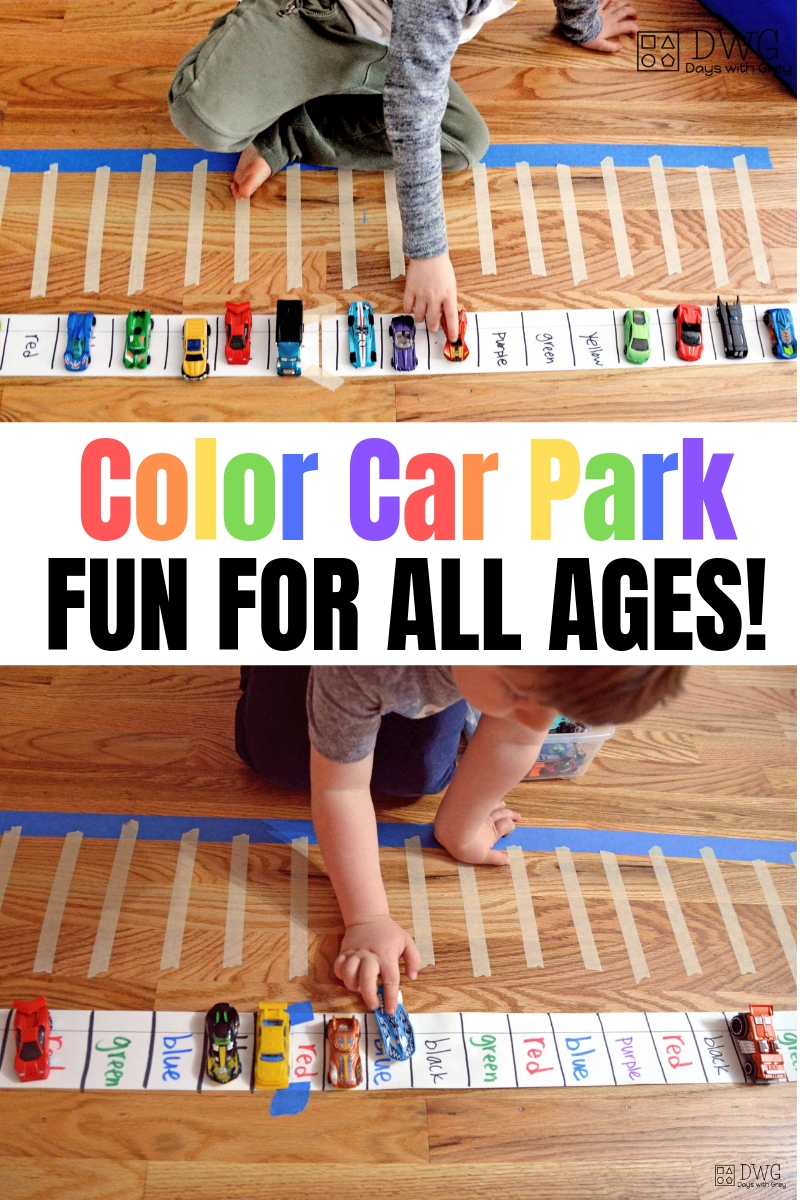 hands on color activities for preschoolers, activities for five-year-olds, four-year-olds, and three-year-olds, Color words, sight words, sorting by color #preschool #preschooler #kindergarten #sightwords #indoorgame.jpg