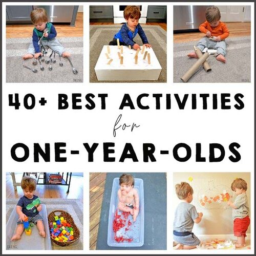 40 Best Activities For One Year Olds