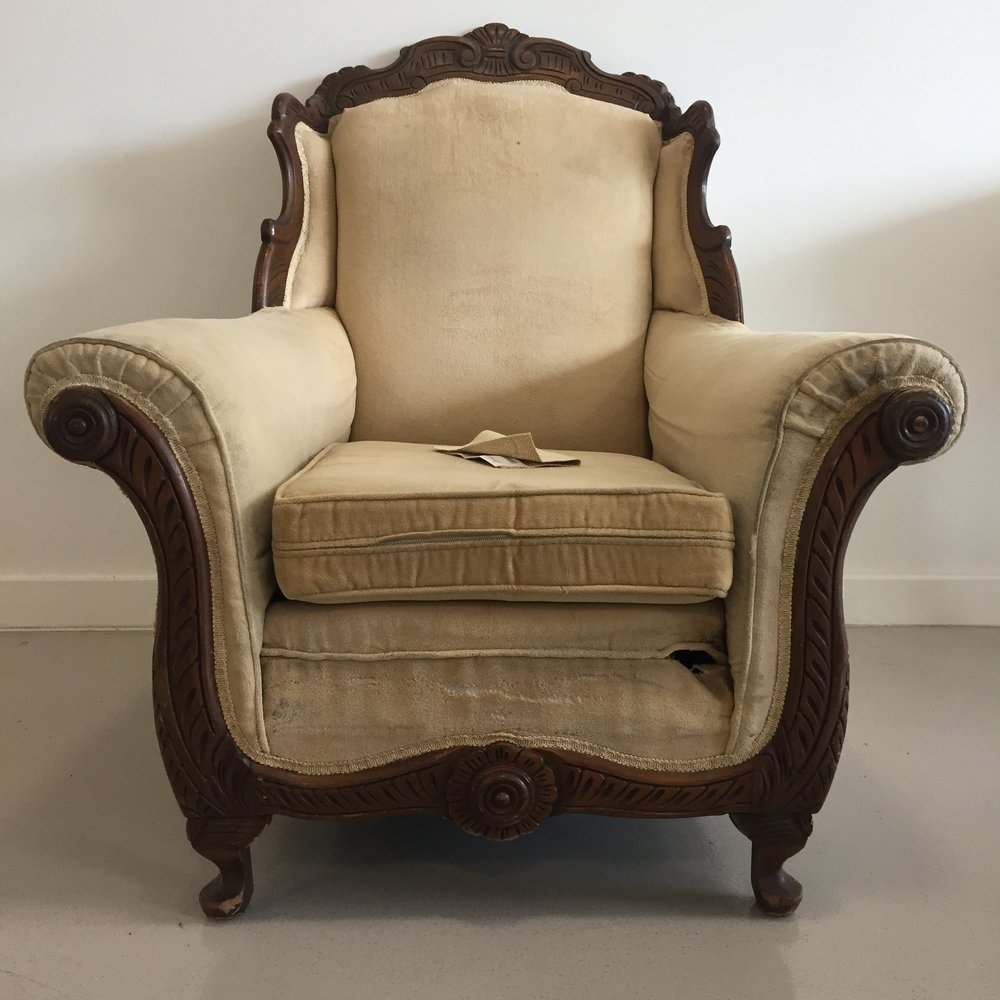 antique armchair - Mccormick Antique Armchair — HAUS & HOME