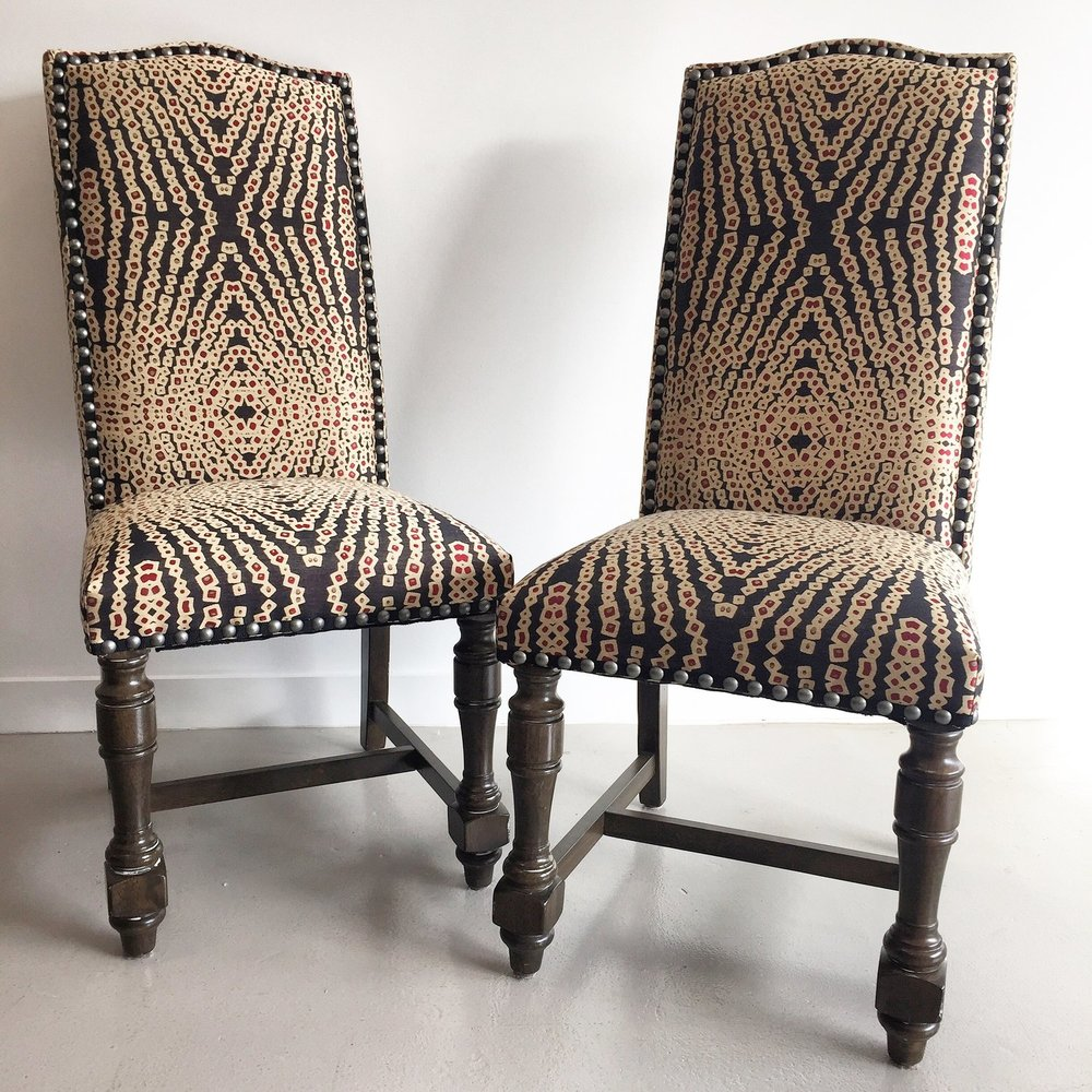 Retro Parsons Chairs