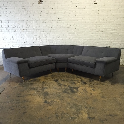 midcentury sectional