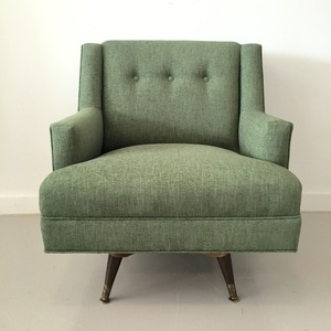midcentury swivel rocker
