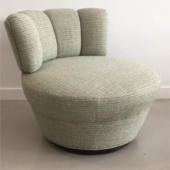 circa 1970s swivel chair