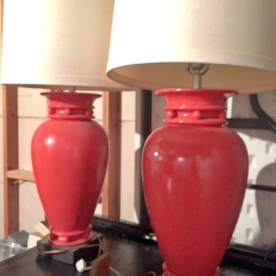 Pair Lamps $20