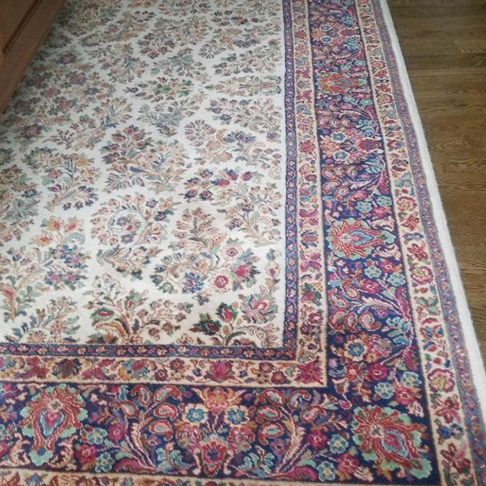 9'x13' Karastan wool rug $275