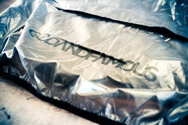 GodandFamous 'Smoke Shell' back pocket branding