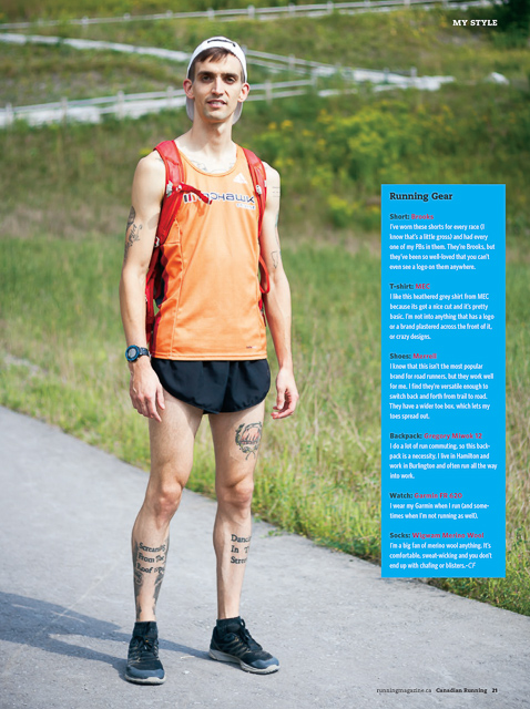Canadian Running:  My Style w/Adam Cole, Sportswear