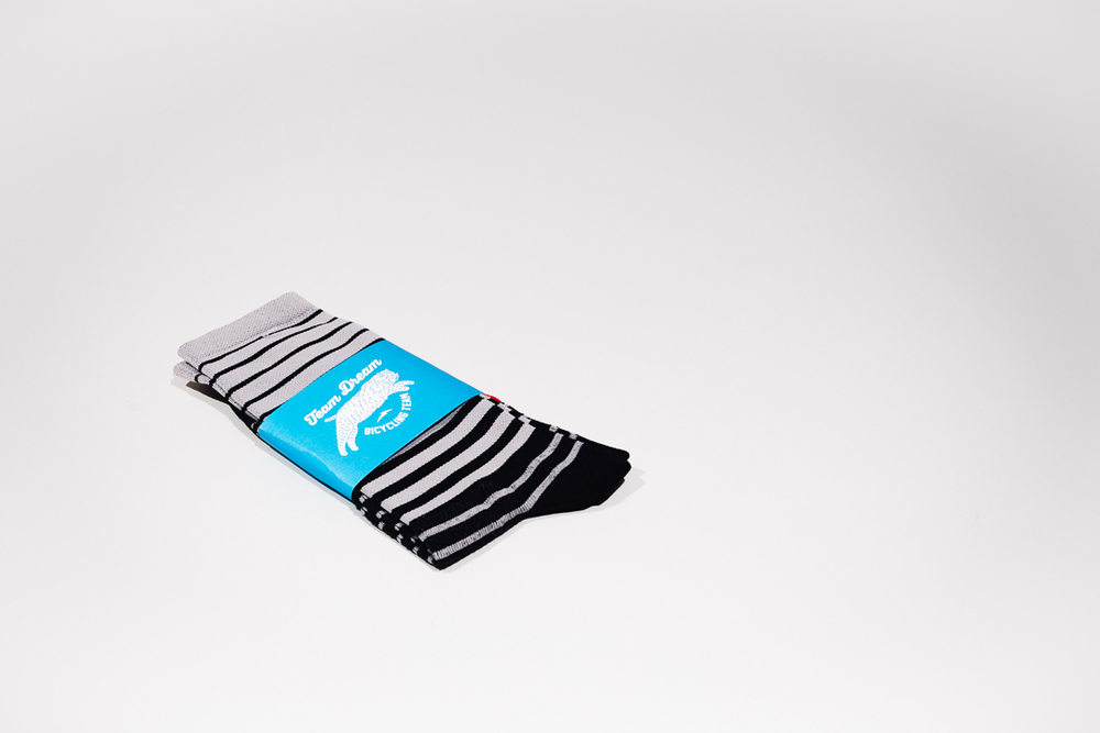 Team Dream Bicycling Team x The Radavist - Fade To Black socks