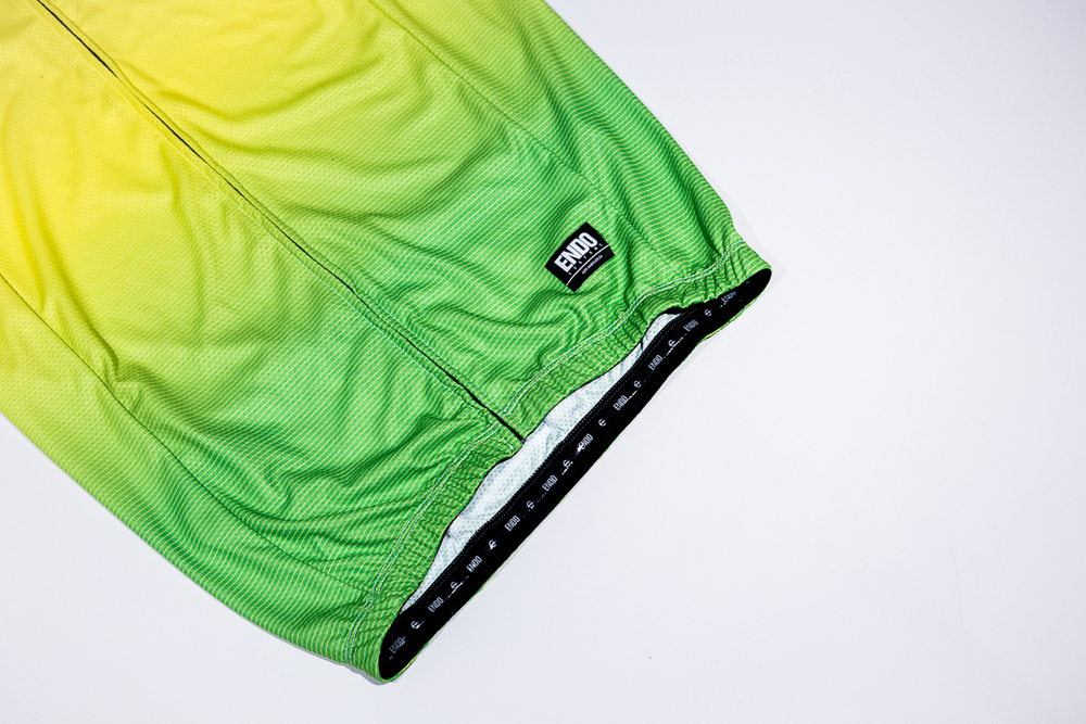 Team Dream Bicycling Team - Get Faded - Lemon Lime Jersey - Bottom Hem