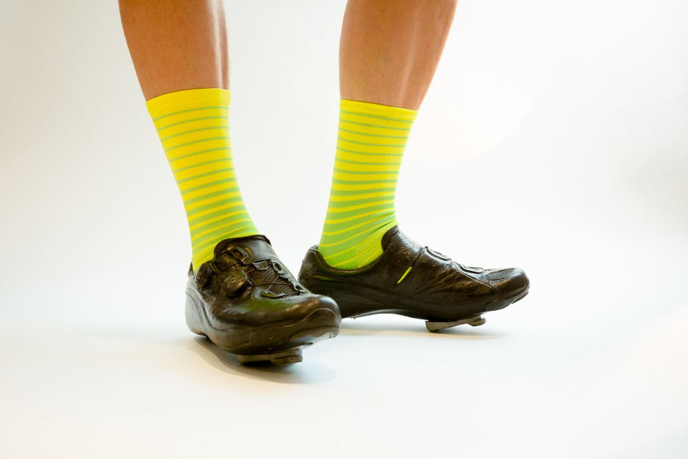 Team Dream Bicycling Team  - Lemon Lime socks