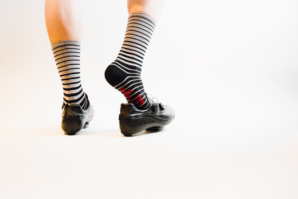 Team Dream Bicycling Team x The Radavist -Fade To Black Socks