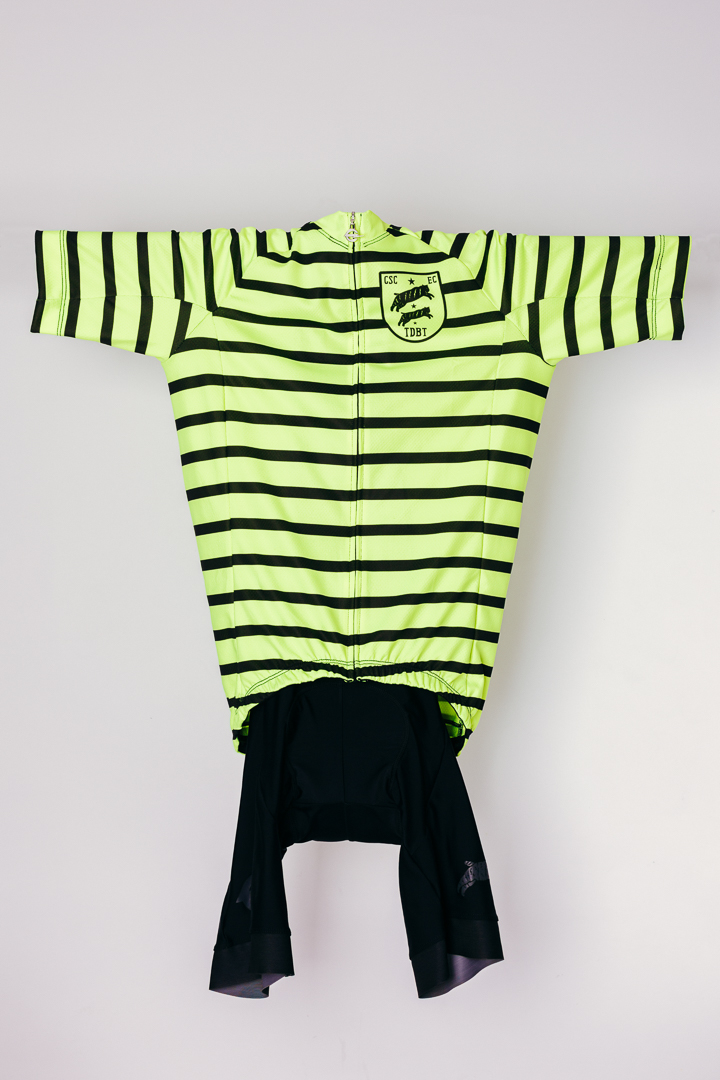 Team Dream Bicycling Team - DayGlo FFF Jersey - front view
