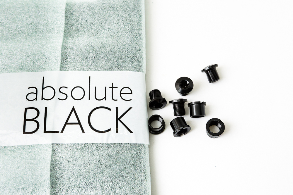 Absolute Black Oval Outer Chainring - Mounting Bolts
