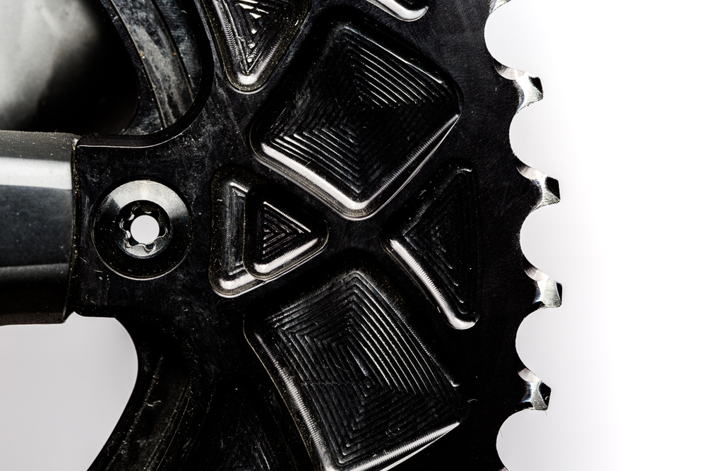 Absolute Black Oval Outer Chainring - Long term wear and tear on the anodized finish