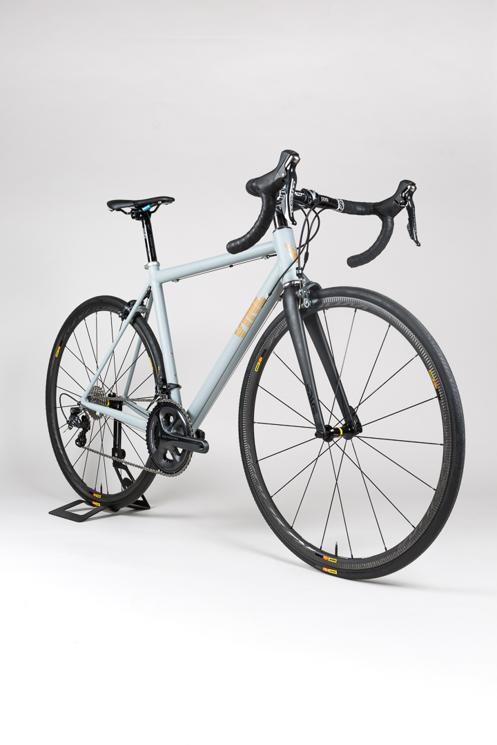 3/4 profile shot of the Uniqlo + Blacksmith giveaway contest bike