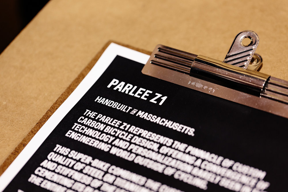 Handbuilt in Massachusetts, USA, Parlee's are what dreams are made of.
