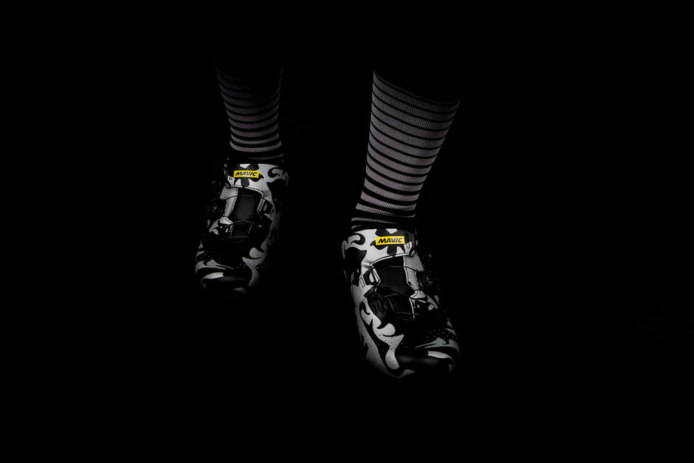 The Lion of Flanders is the third limited edition Mavic Cosmic Pro shoe.