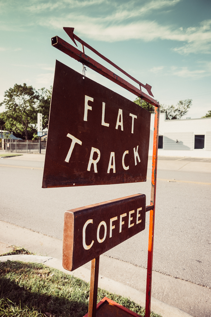 Flat Track Coffee in Austin Texas.