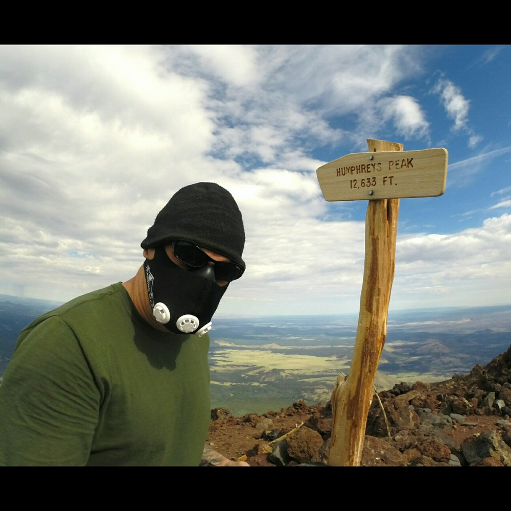 High altitude training on Arizona's tallest peak......