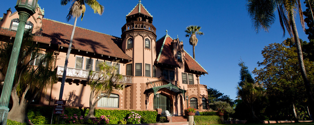 The Doheny Mansion at Mount Saint Mary's University, site of the 2015 LA Writers Conference.