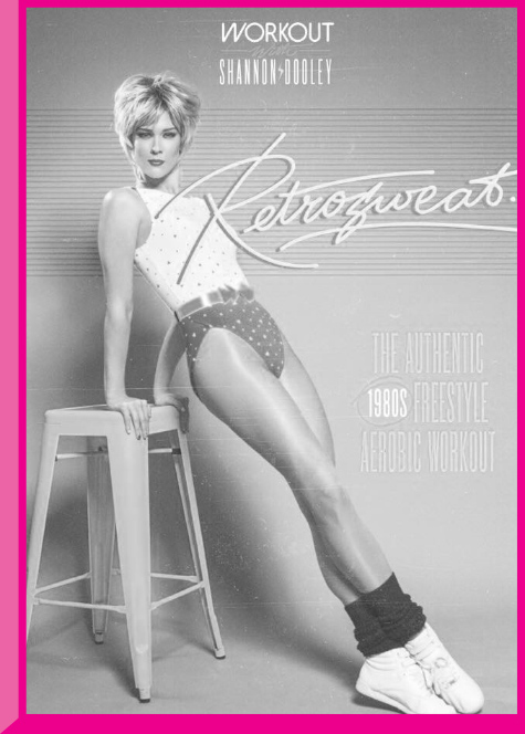 Shannon Dooley channelling Jamie Lee Curtis in a promotion shoot for Retrosweat. All photography by   XRAY DOLL  .