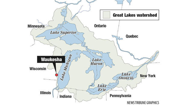 Michigan Map With Cities And Lakes.The Waukesha Decision Diverting Our Attention From Being A Water