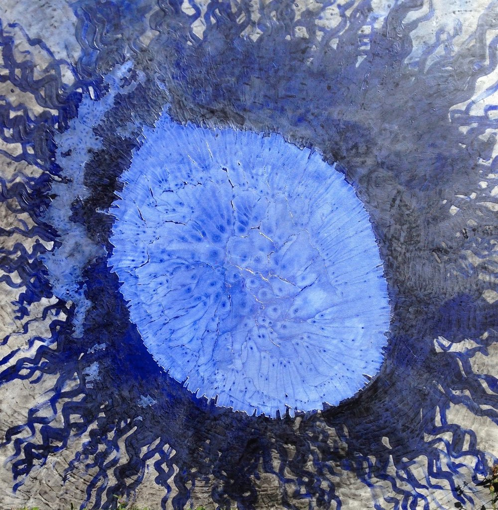 "Work-in-Progress: ""Deep Water Vent II""   Kathy Skerritt"