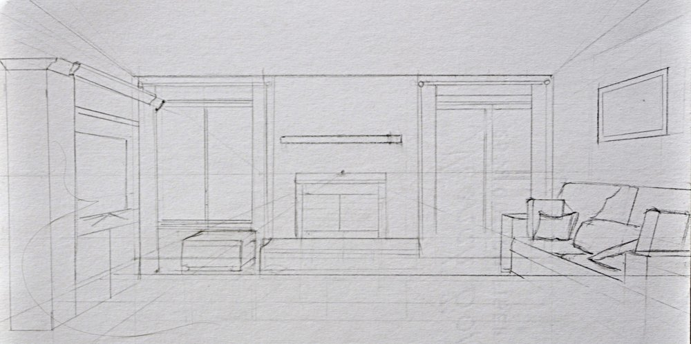 - Observed Perspective Drawing