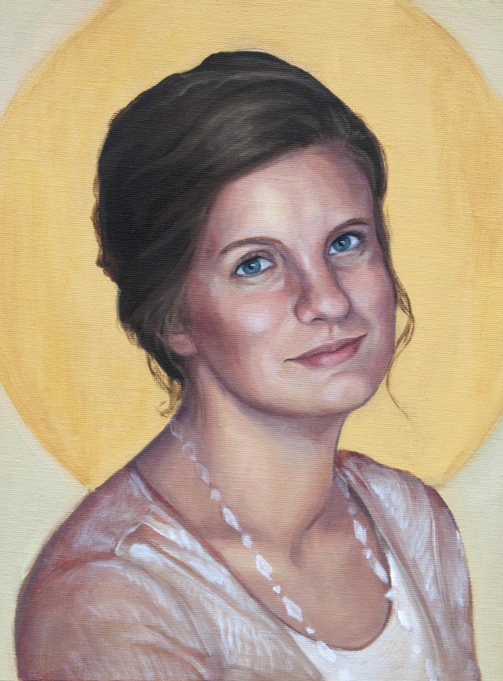 Emily, Oil
