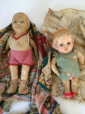 Antique Bisque Dolls