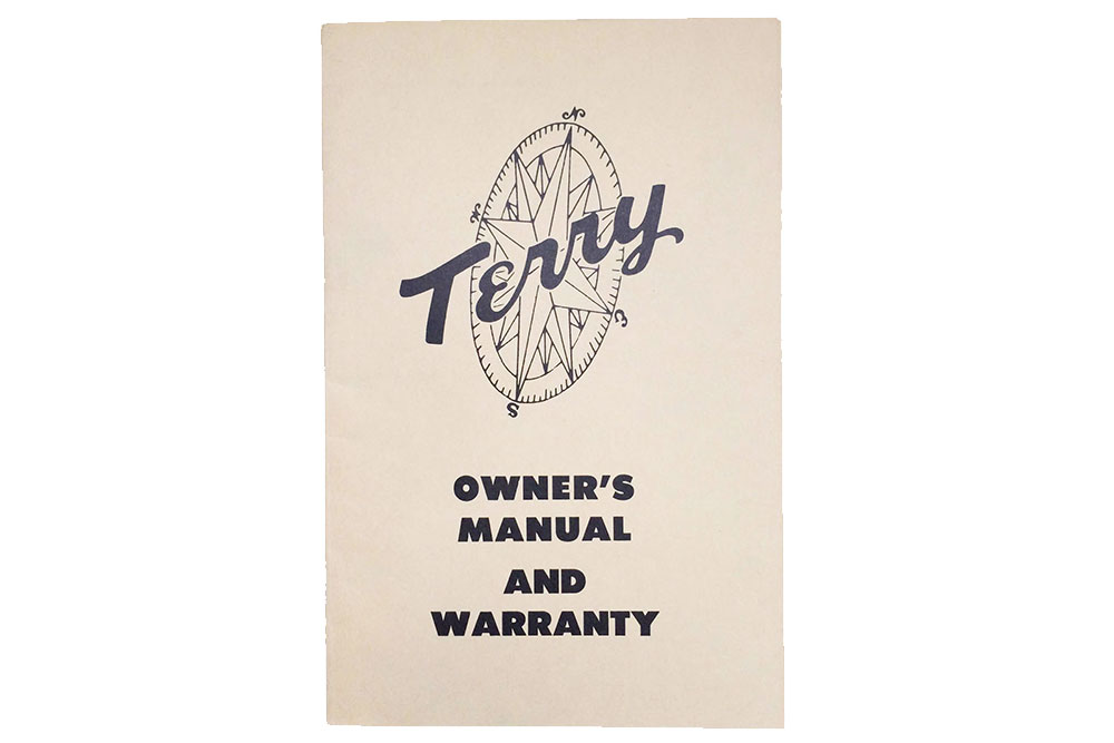 Terry Travel Trailer Owner's Manual and Warranty