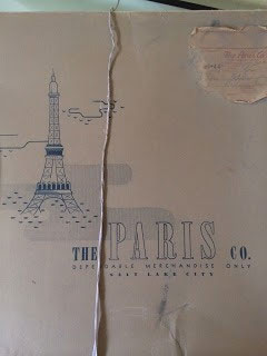 Paris Department Store Hat Box